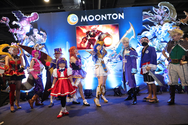 Mobile Legends: Bang Bang present at the LIGA2Kontrabida and Cosplay Mania 2019