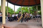 Concierto de la Big-Band, 15-mayo-2014, Templete del Jardín