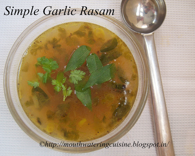 Simple Garlic Rasam
