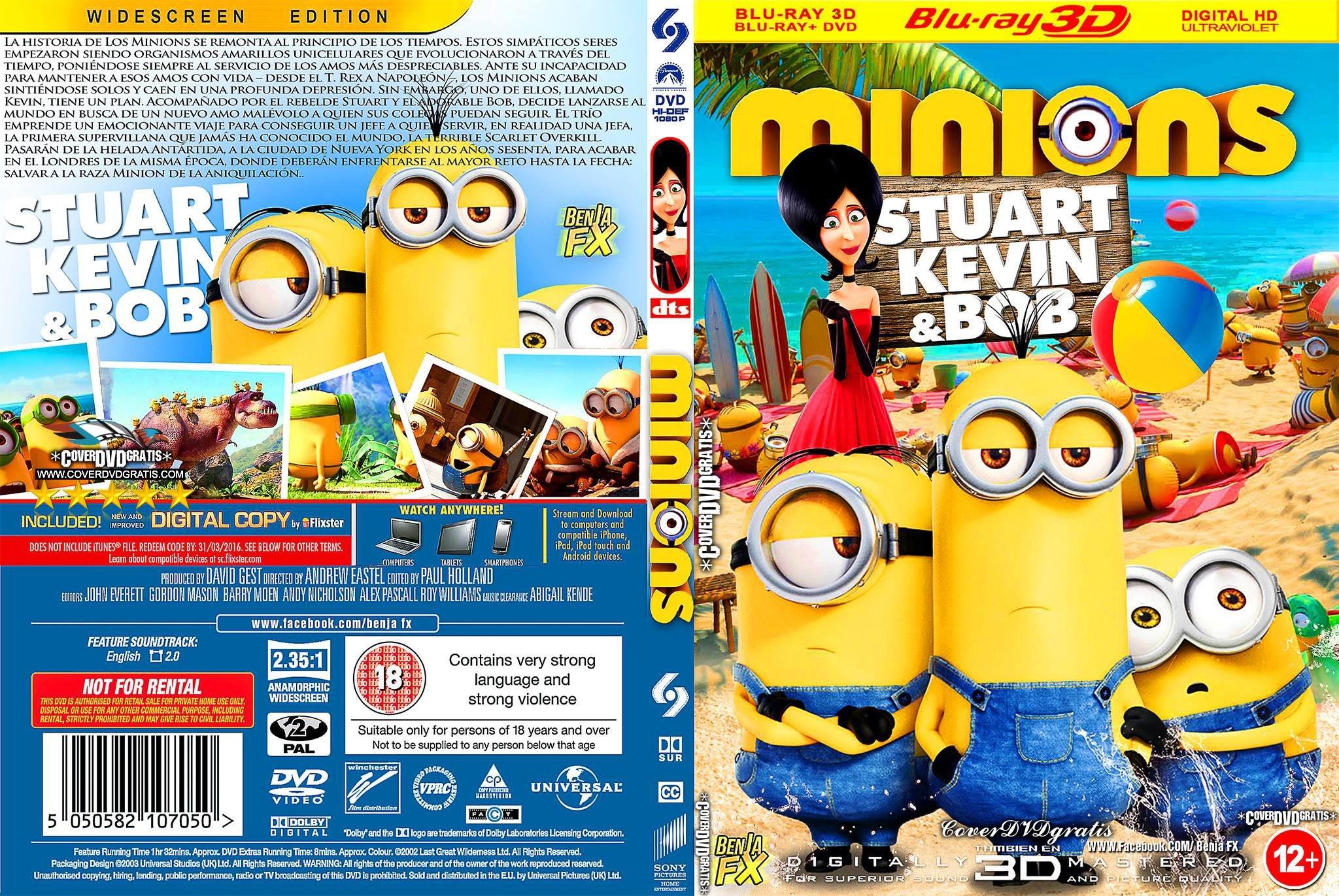 Minions Film Auf Dvd