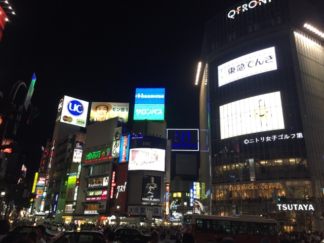 The bright lights of Shibuya are a must see for any visitor to Tokyo