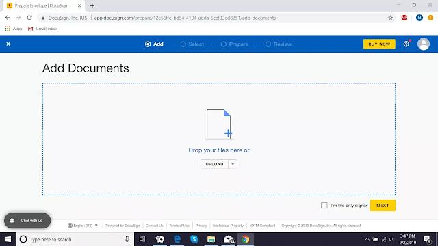 Como assinar um PDF eletronicamente com o DocuSign