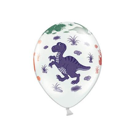 Ballonger - Dinosaurier 6 st