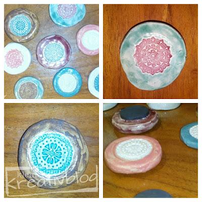 kleiner-kreativblog: Kühlschrankmagnete aus Keramik