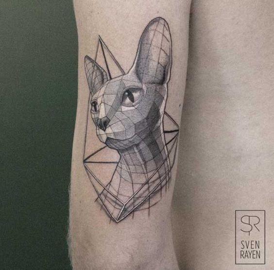 3d_cabeça_de_gato_bceps_tatuagem