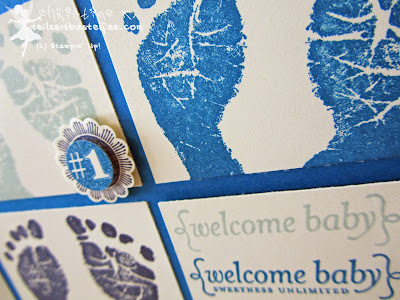 stampin up, babyglück, baby prints, sweetness unlimited, simply stars, ciao baby