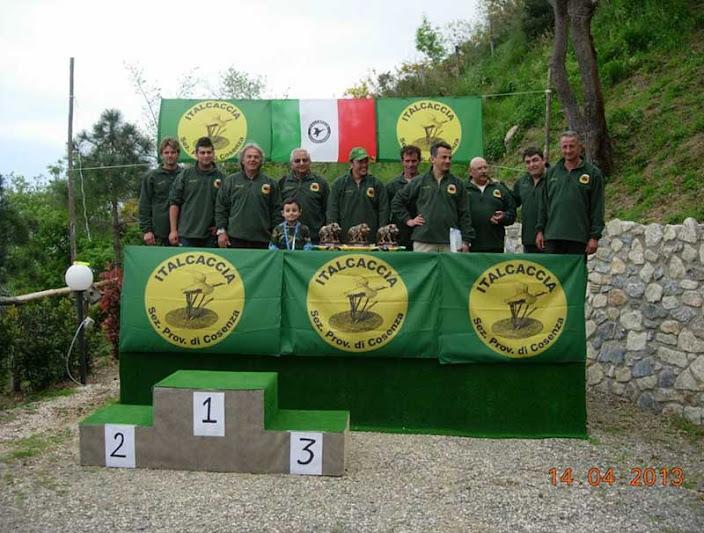 PREMIAZIONE FINALE CAMPIONATO REGIONALE PER CANI DA SEGUITA SU CINGHIALE