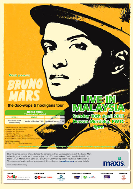 Malaysia Bruno Mars Live Concert