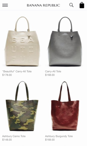 LUST LIST  All the bags from Banana Republic – FABGLANCE 738bc14632e98