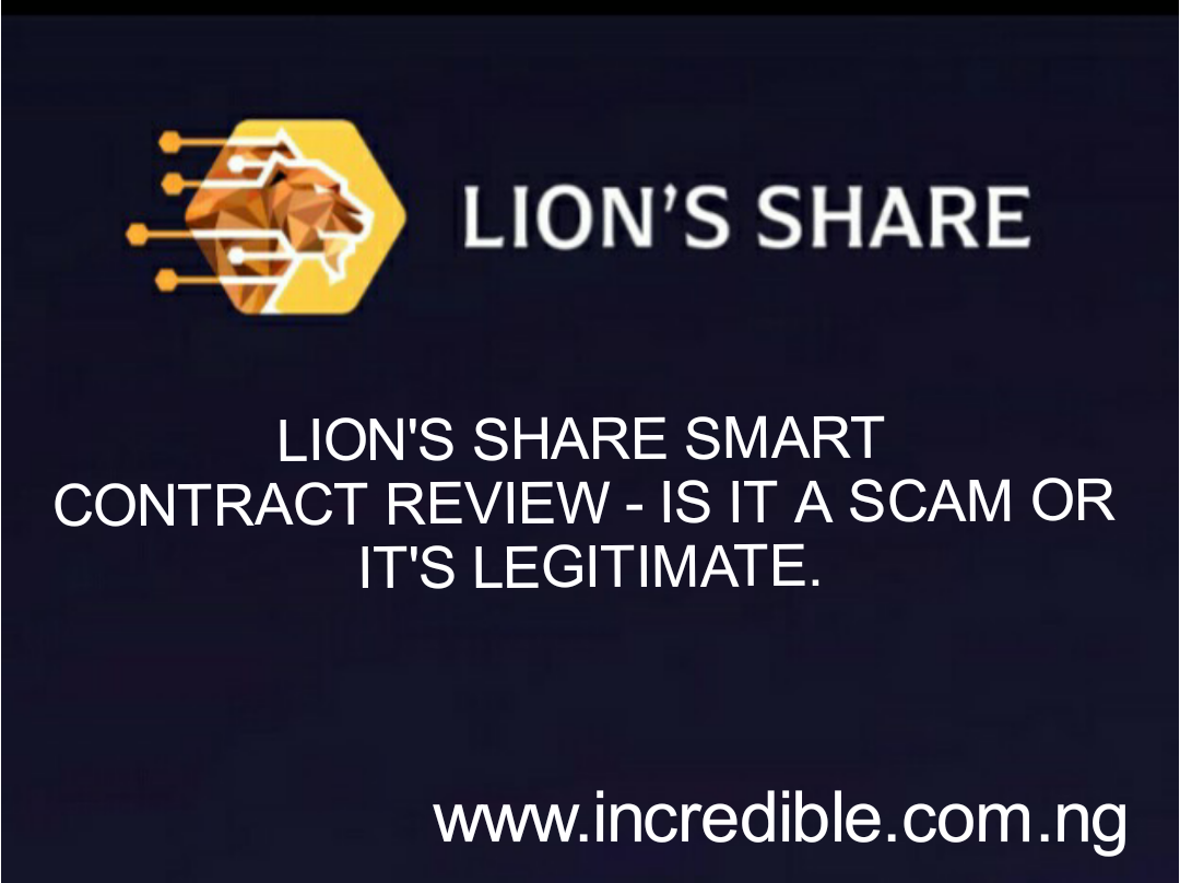 Lionsshare.io Review - Scam or Legit, All You Need To Know About Lionsshare.io Before Signing up.