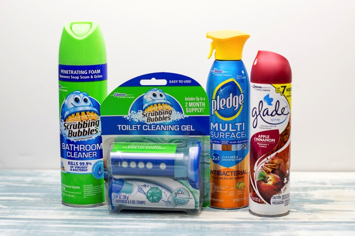Christmas housecleaning supplies