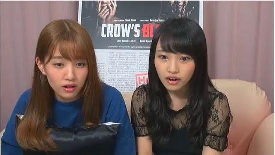 (Web)(360p) SHOWROOM みーおんれなっちとCROW'S BLOOD鑑賞 160801