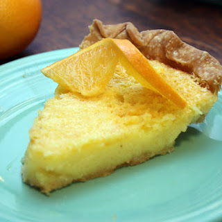 Orange Chess Pie.