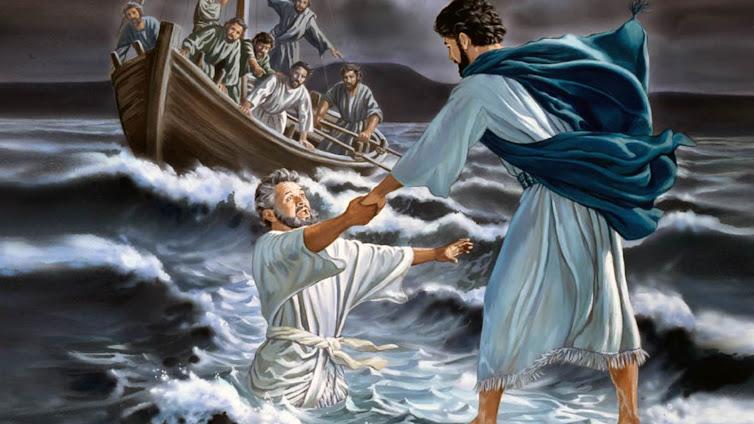Xin cho con đi trên mặt nước (09.8.2020 – Chúa Nhật 19 Thường niên, Năm A)