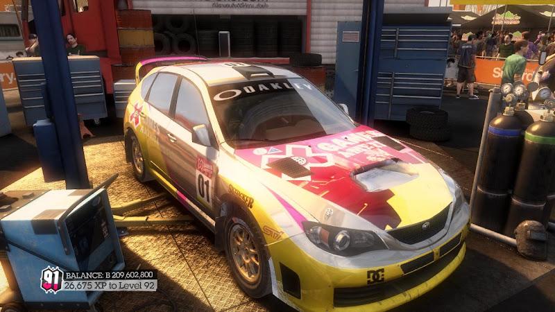 รายการรถกลุ่ม Rally ใน DiRT2 Sti-06