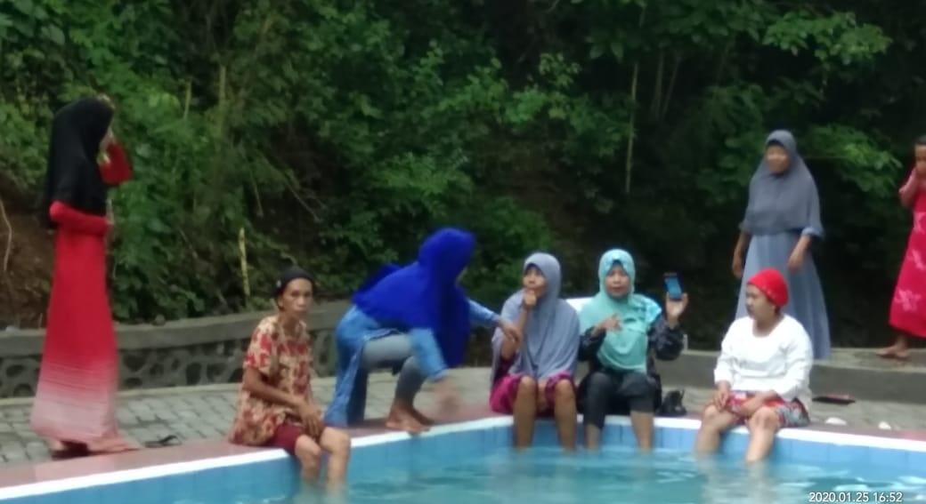 Kunjungi Objek Wisata Baru Soppeng Permandian Alam Air Panas Bucello Di Kacimpang Teropong Sulawesi