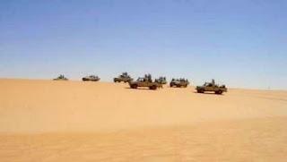 Quatre contrebandiers arrêtés par les forces de l'ANP à Bordj Badji Mokhtar et In Guezzam (MDN)