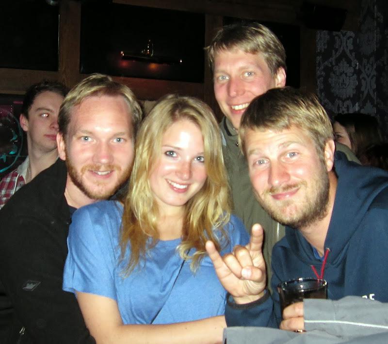 Chris, Clarissa, Philipp, Torge