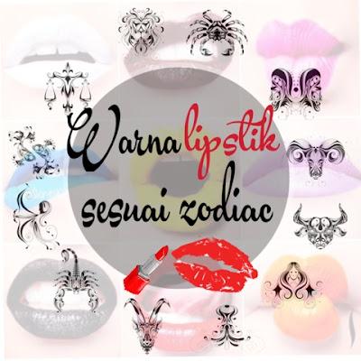 warna lipstik sesuai zodiak