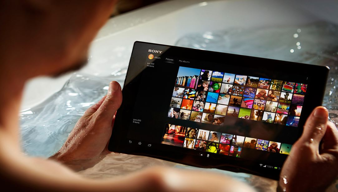 Video tra tấn Sony Xperia Z4 Tablet