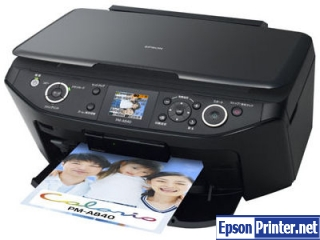 Get Epson PM-A840 resetter software