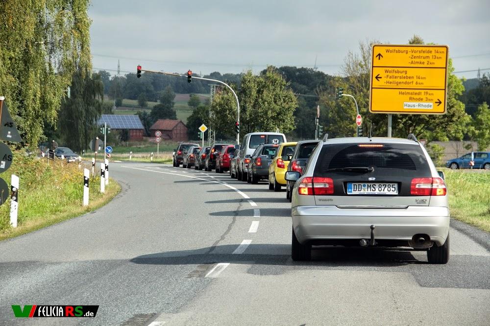 Fahrt zum Volkswagenmuseum nach Wolfsburg.