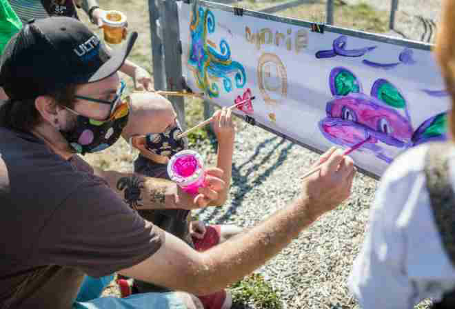 Delta Art Experience beholds a changing Everett neighborhood in the society.