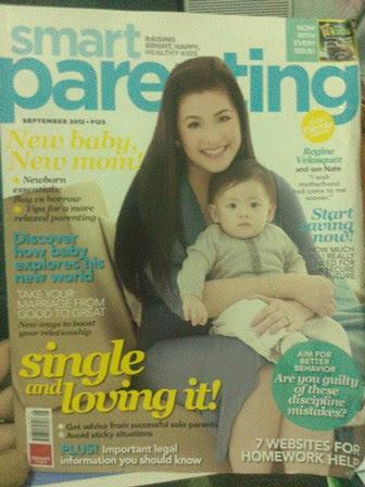 Regine Velasquez-Smart Parenting Issue September