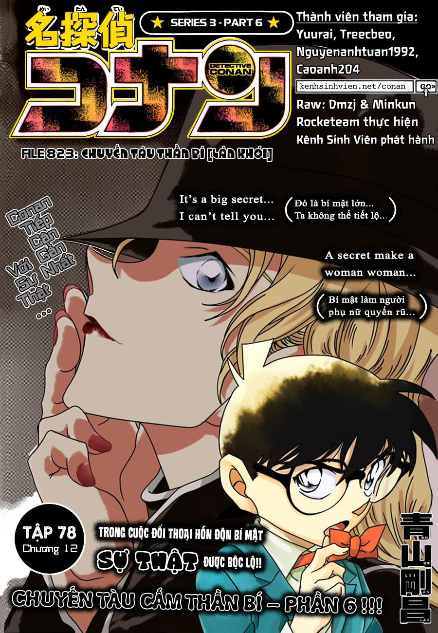 Detective Conan Chap 823 - Truyen.Chap.VN