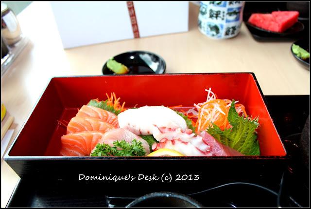 Sashimi in a box