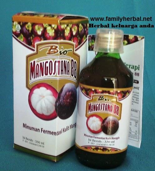 Fermentasi Kulit Manggis BioMangostana88