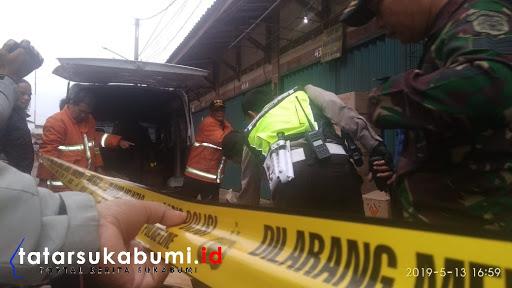 Mobil Pembawa Mercon Meledak di Sukabumi