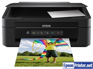 How to reset Epson XP-207 with application