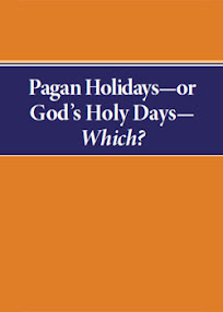 Cover of Herbert Armstrong's Book Pagan Holidays or Gods Holy Days Which