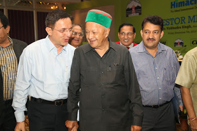 Memorable moment with Raja Virbhadra Singh CM Himachal