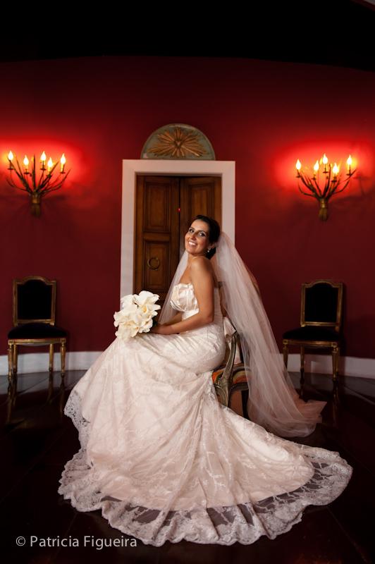 Foto de casamento 0309 de Mônica e Diogo. Marcações: 20/08/2011, Casamento Monica e Diogo, Fotos de Vestido, Marie Lafayette, Rio de Janeiro, Vestido, Vestido de Noiva.