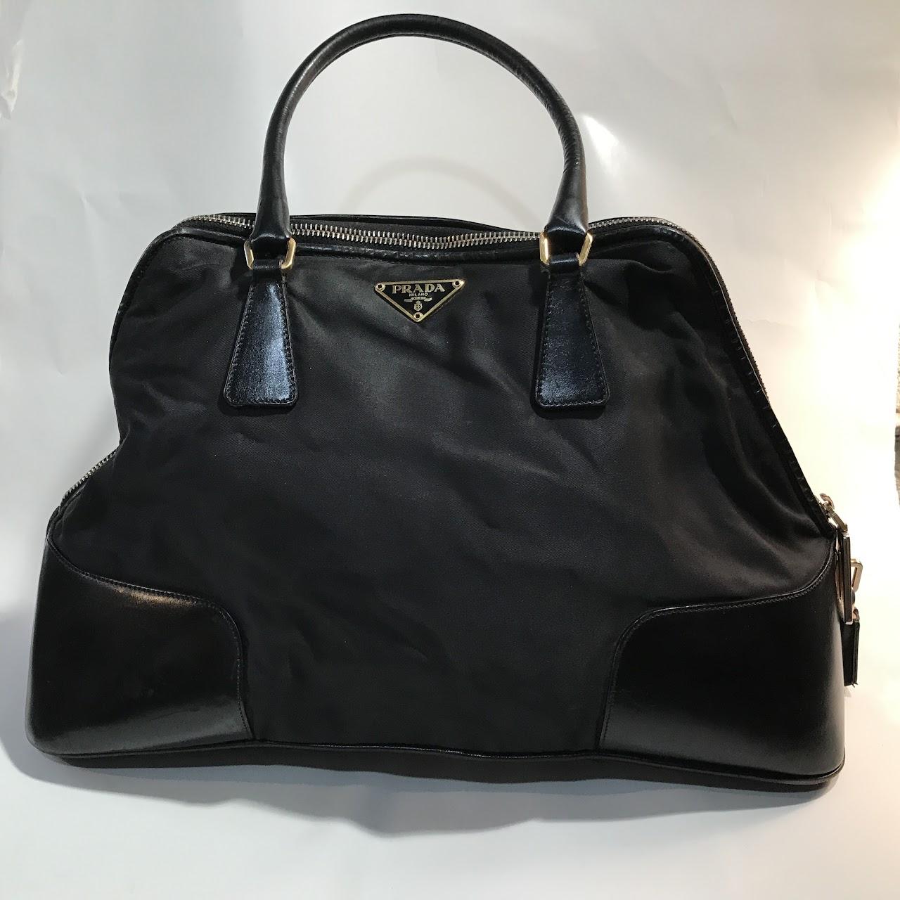 bae0bd55 low price prada classic black handbag d11f5 b000d
