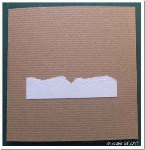 Start of a card