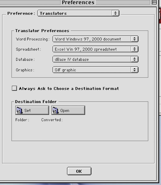 6 preset preferences under MLP 11