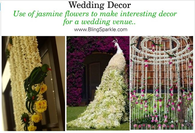 exotic floral decor for weddings