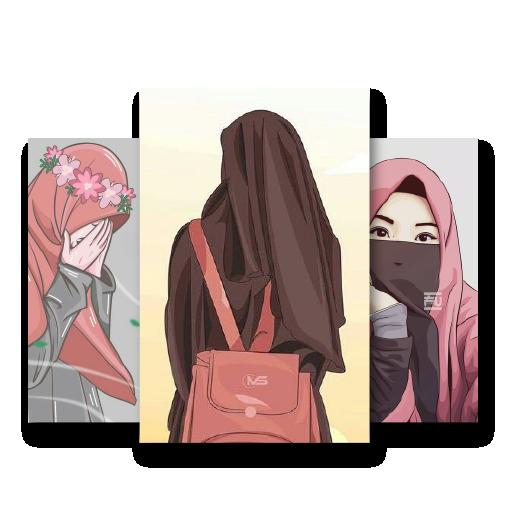 700+ Gambar Kartun Muslimah Bersahabat HD Terbaru
