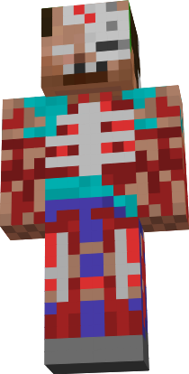 Zombie Herobrine Nova Skin