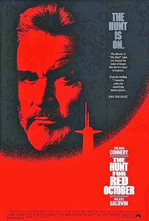 Poster Of The Hunt for Red October (1990) Full Movie Hindi Dubbed Free Download Watch Online At Alldownloads4u.Com