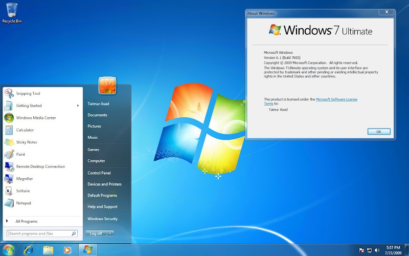 windows 7 ultimate 32 and 64 BIT direct download links