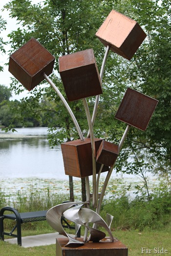 Boxy sculpture