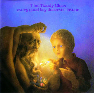 the Moody Blues ~ 1971 ~ Every Good Boy Deserves Favour