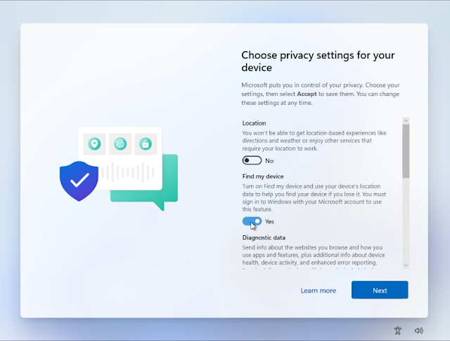 Enable or Disable Security Options as per your needs