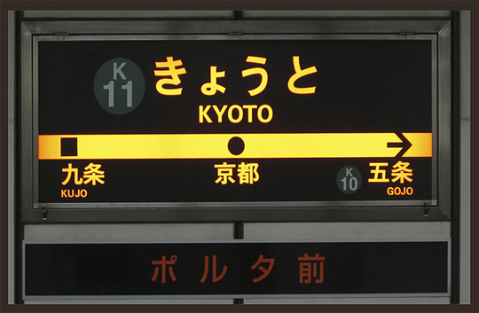 El transporte en Kyoto