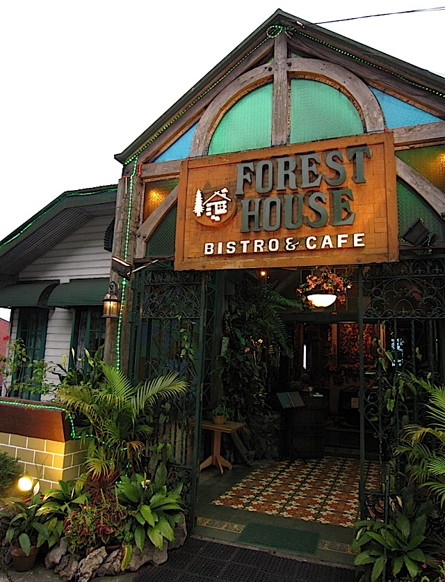 Forest House Bistro and Café in Baguio City