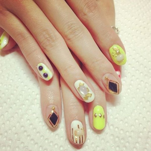 Very Cute JAPANESE NAIL ART DESIGNS For 2016